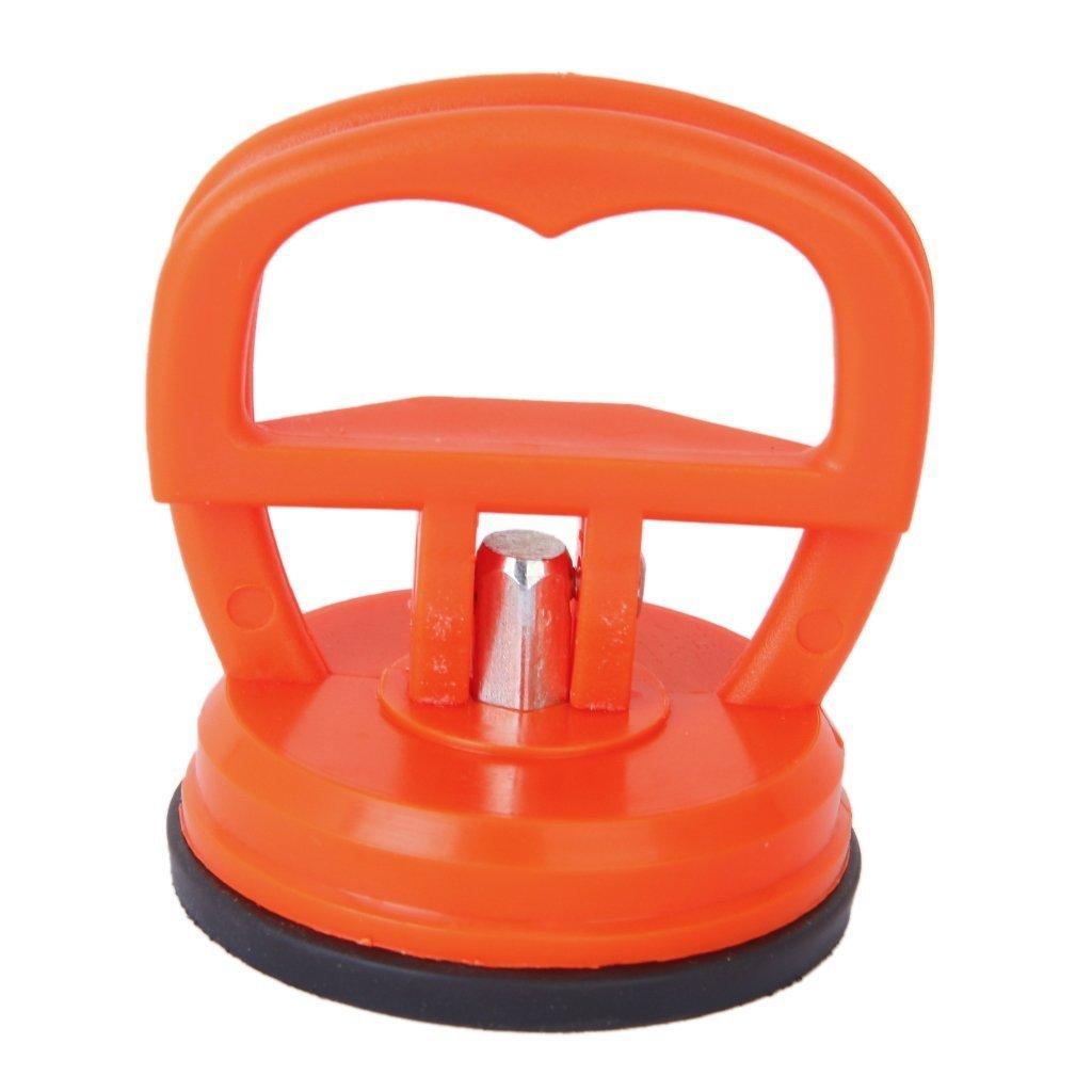Romote tazza di vetro di aspirazione/Pad Dent Puller/Lifter con trasporto 15KG maniglia - Arancione Rosso