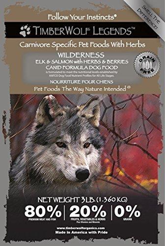 3lb Wilderness Legends Elk & Salmon with Herbs & Berries