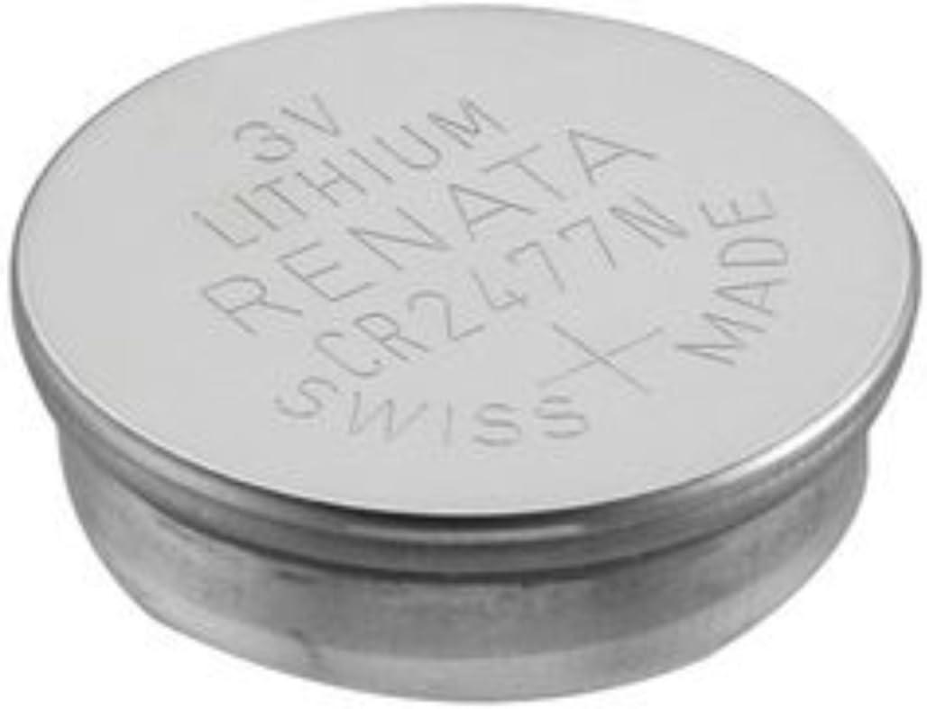 30 Renata CR2477N 3 Volt, 950mAh, Lithium Coin Battery, On Tear Strip 51tRfMM8wLL