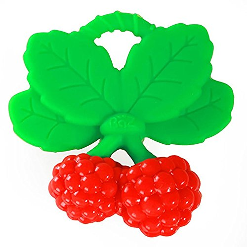 Razbaby Razberry Teether - RaZbaby RaZzies Teether, Red and Green