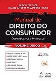 capa de Manual de Direito do Consumidor. Direito Material e Processual