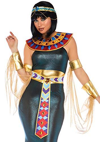Leg Avenue Womens Nile Goddess Cleopatra Costume, Multi, MED/LGE