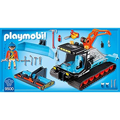 PLAYMOBIL Snow Plowed: Toys & Games