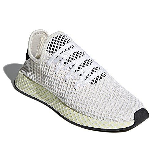 Adidas Heren Deerupt Runner Originelen Loopschoen Zwart / Wit