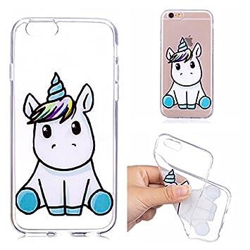 coque iphone 6 silicone unicorn