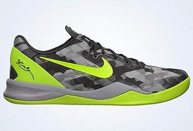 68f65b556a8 Nike Kobe 8 System (Sport Grey Volt-Pure Platinum) (10)