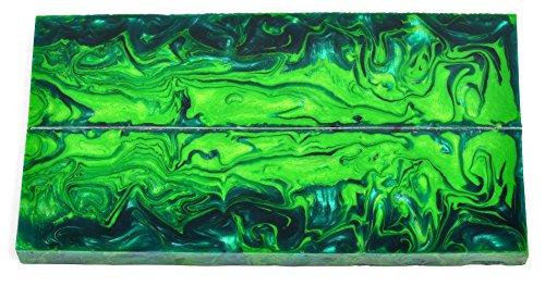 Jungle Moss Acrylic Liquid Inlace Scales -- 5