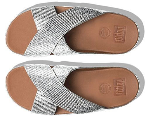 Fitflop CRYSTALL SLIDE 2017 silver 40