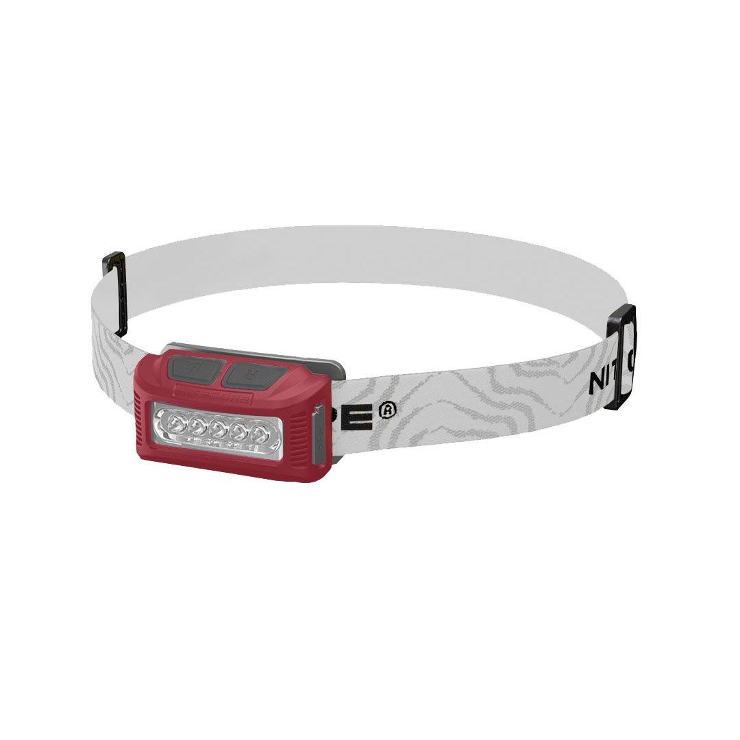 Nitecore Manbuy High Performance LED Rechargeable Li-io Battery 160 Lumen for Camping Running Fishing Outdoor NU10 HeadLamp Flash Light