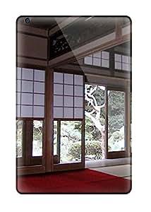 premium Phone Case For Ipad Mini/ Japanese Architecture Tpu Case Cover
