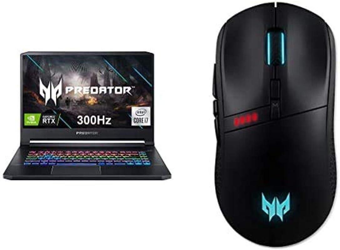 Acer Predator Triton 500 PT515-52-73L3 Gaming Laptop, Intel i7-10750H, NVIDIA GeForce RTX 2070 Super, 15.6