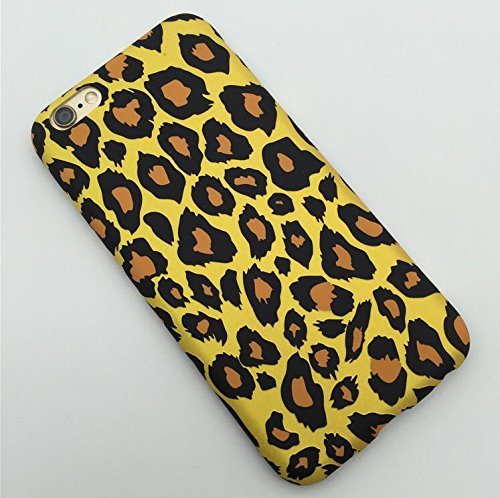 Cheetah Printed (iPhone 6 Plus/6S Plus Case (5.5 inch),Blingy's® Flashy Leopard Pattern Series Printed Flexible Soft Rubber TPU Case for Apple iPhone 6 Plus/6S Plus (Original))