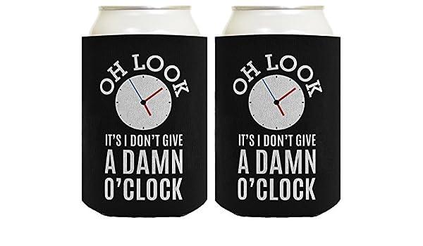 Oh Look Its I Dont Give a Damn OClock - Enfriador de bebidas: Amazon.es: Hogar