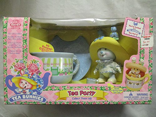Tea Bunny Bunnies & Me Iris Bouquet Blooming Bunny Flower Shop Tea Party 81007