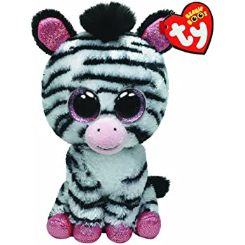 Amazon.com: Ty Beanie Boos Izzy - Zebra (Justice Exclusive