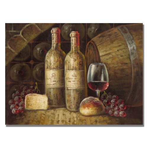 Trademark Fine Art Napa Valley by Master's Art Canvas Wall Art, 35x47-Inch
