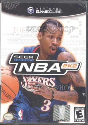 NBA 2K2 gamecube