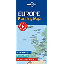 Lonely Planet Europe Planning Map 1st Ed.: 1st Edition