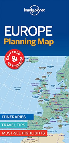 Planning Map - Lonely Planet Europe Planning Map