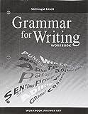 img - for McDougal Littell Literature: Grammar for Writing Workbook Answer Key Grade 8 book / textbook / text book