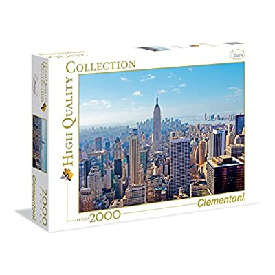 Clementoni 32544 High Quality Collection Puzzle New York 2000 Pezzi