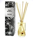 Urban Naturals Tobacco & Vanilla Reed Diffuser Set | Havana Blends Tobacco Leaf, Bergamot, Vetiver, Bourbon & Vanilla Bean Scented Oils | Natural Flowers in The Bottle! an Amazing Scent!