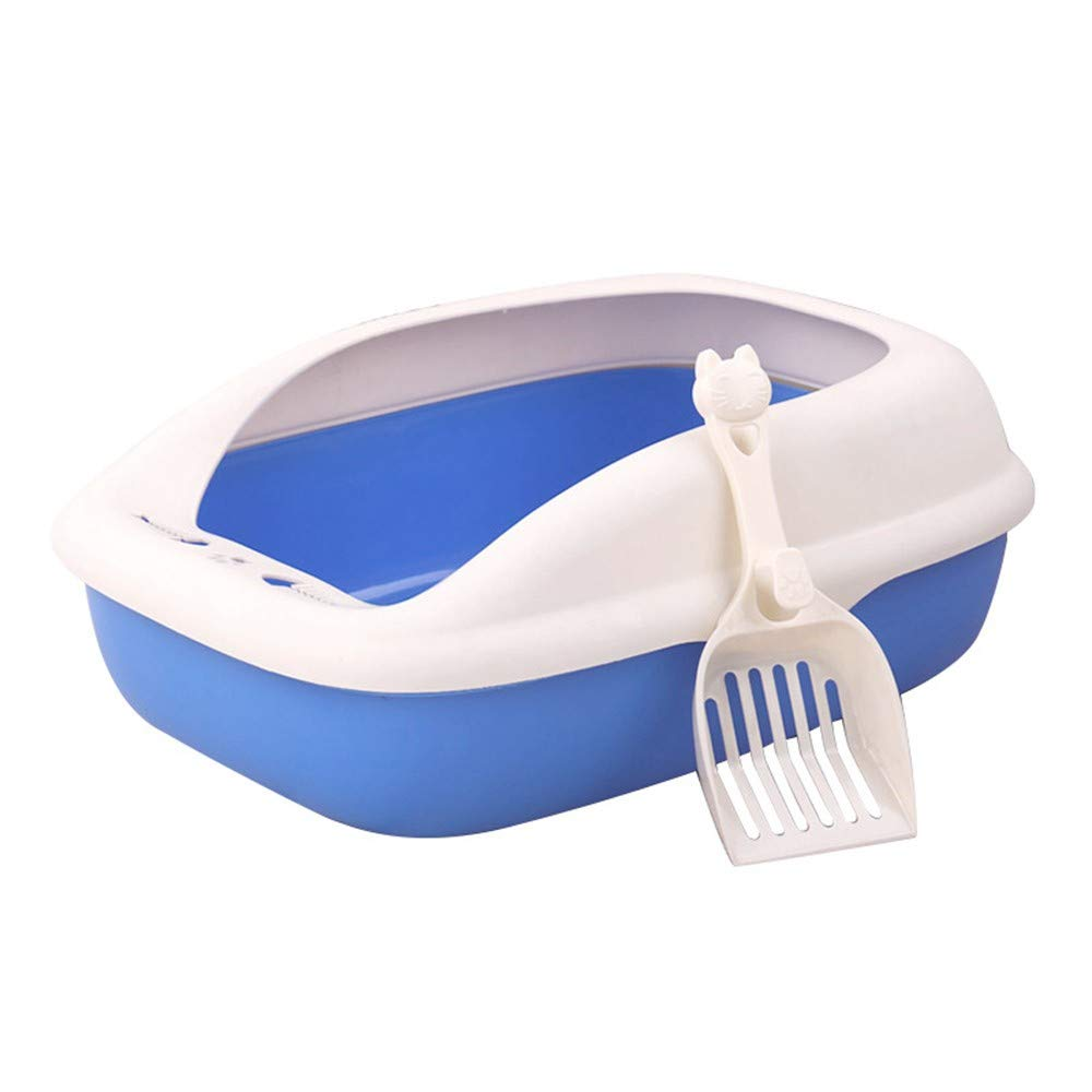 bluee cat basin (with shovel) cwbedpan Pet Products, Cat Litter, Spattering Cats And Toilets, Pet Products,bluee Cat Basin (With Shovel)