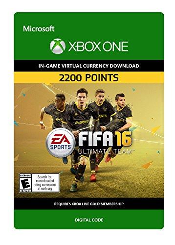 FIFA 16 2,200 FIFA Points - Xbox One Digital Code
