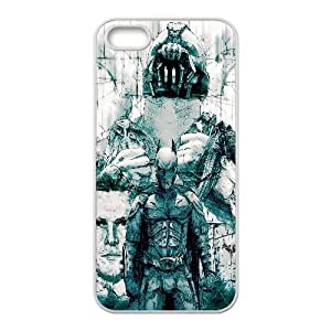 The Dark Knight Rises Artistic iPhone5s Cell Phone Case White yyfabc-509323