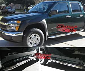 APS NB-C3021S Mirror Polished Nerf Bar Bolt Over for select Chevrolet Colorado