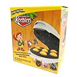 Keeber Cake Pop Maker - Bakes 7 Cake Pops - White Cake Pop Maker Multi Treat Baker 7 Donut Hole Maker or Cake Pop Capacity - Fast Easy to Use Cake Pops in Minutes - Nonstick Surface Easy Cleanup