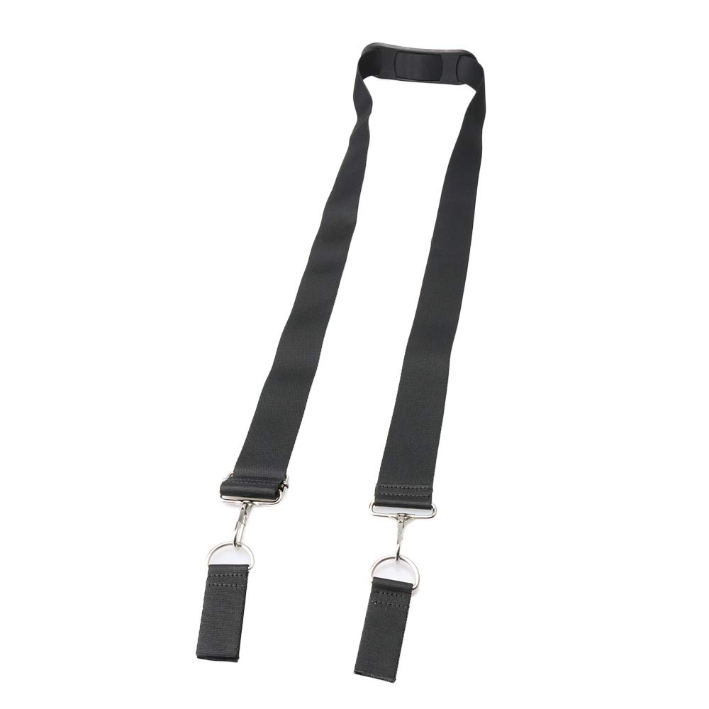 Mxfans 38MM Width DIY Toolbox Luggage Bag Strap D-Type Buckle with Shoulder Pad