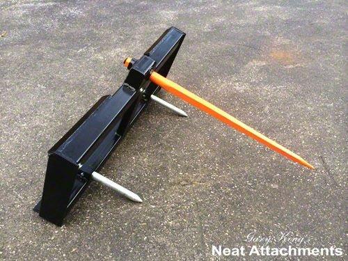 Skid Steer Bale Spear - Skid Steer Bale Spear Attachment - w/49