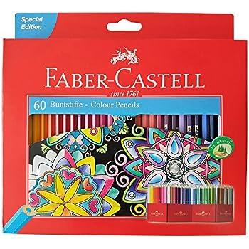 Amazon.com : Faber Castell Premium Color Pencils, 60 colour : Office ...