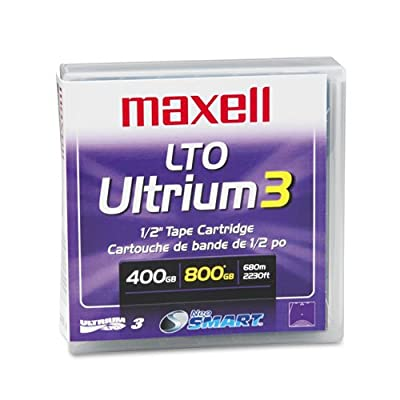 MAX183900 - Maxell LTO Ultrium 3 Tape Cartridge by Maxell
