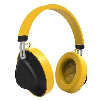 BANNAB Bluetooth 5,0 Over-Ear Auriculares De Control De Voz Estéreo Auriculares Inalámbricos