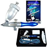 Master Airbrush Airbursh Sandblaster Air Eraser Glass Etcher with a (FREE) Ho...