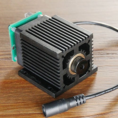 445nm 5500mW Blue Laser Module With Heat Sink For DIY Laser Engraver Machine by LEEPRA (Image #5)