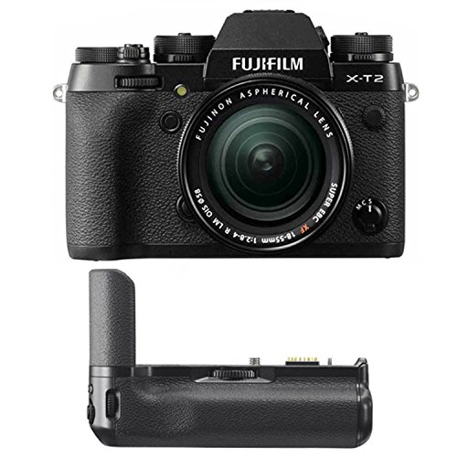 Fujifilm X-T2 Mirrorless Digital Camera w/18-55mm Lens & Ver
