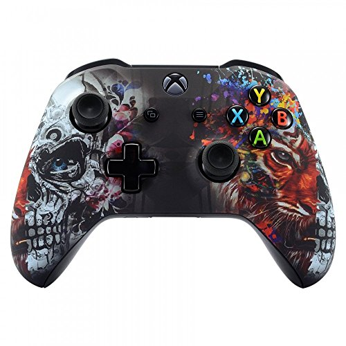 Xbox One Wireless Controller for Microsoft Xbox One - Custom Soft Touch Feel - Custom Xbox One Controller (Tiger ()