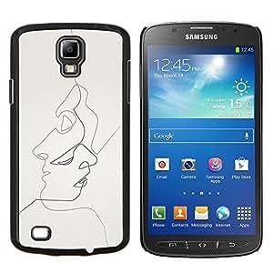 EJOOY---Cubierta de la caja de protección para la piel dura ** Samsung Galaxy S4 Active i9295 ** --bebido