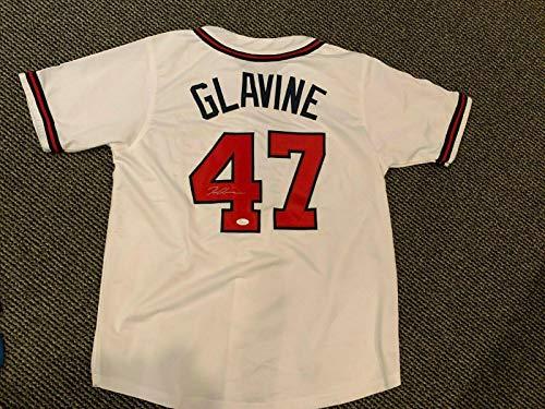 (Tom Glavine Autographed Jersey - JSA Certified - Autographed MLB Jerseys)