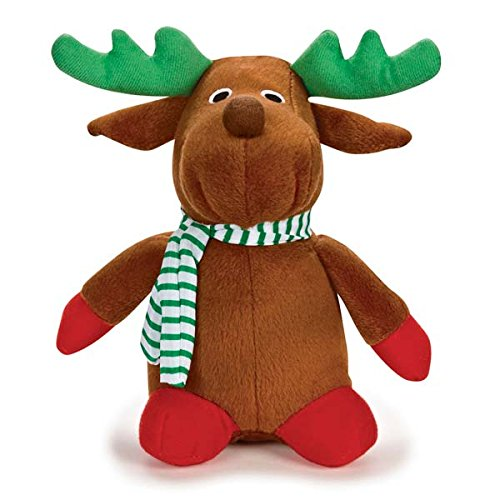 Zanies Plush Holiday Friend Rudolph Dog Toy, 7-1/2-Inch