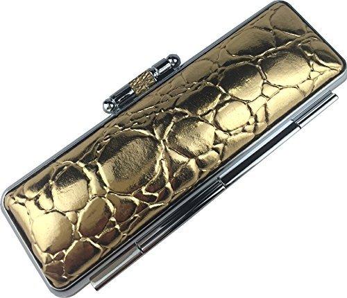[해외]도장 케이스 펀칭 시리즈 골드 13.5 ~ 15mm 오리지널 명품 朱肉 사용 / Seal Case Type Pressing Series Gold 13.5~15mm Original High-Grade Red Meat Use
