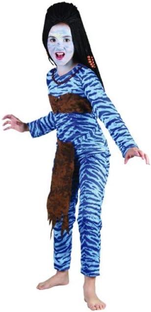 Disfraz Guerrera Jungla Niña Talla 7-9 años: Amazon.es: Juguetes y ...