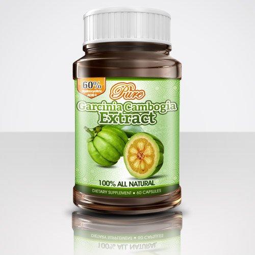 Pur Garcinia extrait avec HCA, 500 mg, 60 capsules