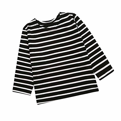 c15b749c515 Baby Kids Boys Girls Star Striped Long Sleeve O Rong BFF - Import It All