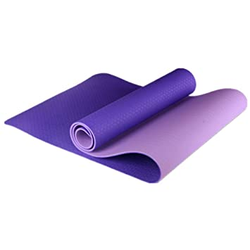 Amazon.com: WUSHIYU Yoga Mat Thick Pilates Mats Sports Yoga ...