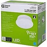 Commercial Electric (Model # 546062XX) 1-Light 7 in. White LED Easy Light