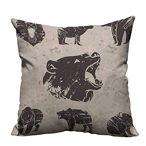 YouXianHome Throw Pillow Cover for Sofa Different Bears for sale  Delivered anywhere in USA